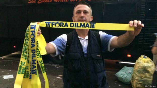 Ricardo Tezotti, vendedor | Foto: BBC Brasil