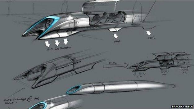 China ya prueba la tecnología de tubo de vacío en la Universidad Jiaotong y los ensayos del Hyperloop de Tesla y Musk comenzarán el año que viene en California.