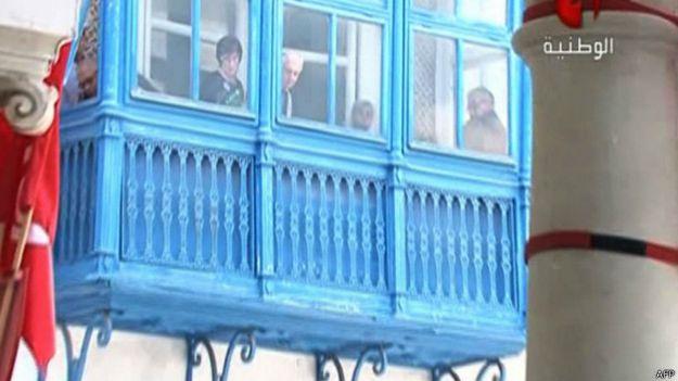 rehenes en el Museo Bardo de Tunez