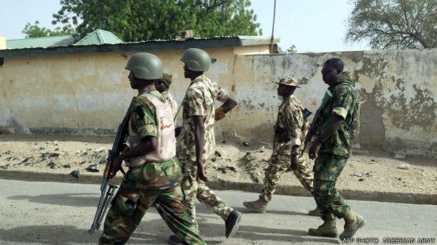 Credito:AFP PHOTO / NIGERIAN ARMY