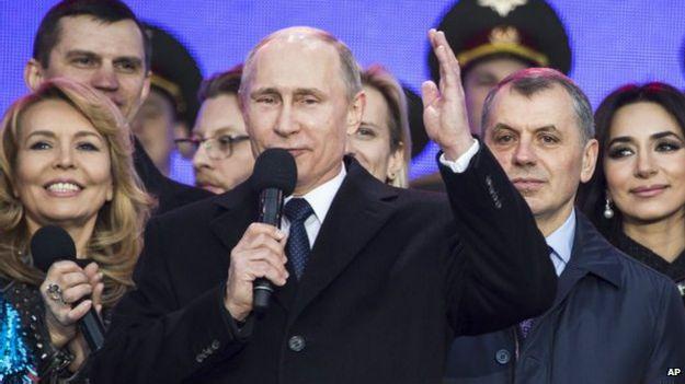 Vladimir Putin en un evento público.