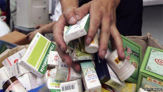 Medicamentos chinos