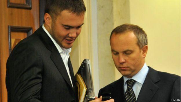 Янукович-младший и Шуфрич