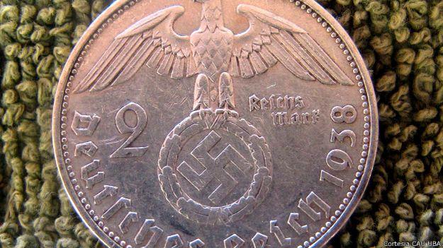 Moneda nazi encontrada en Misiones, Argentina