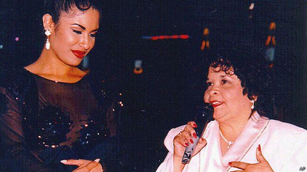 Selena y Yolanda Saldívar