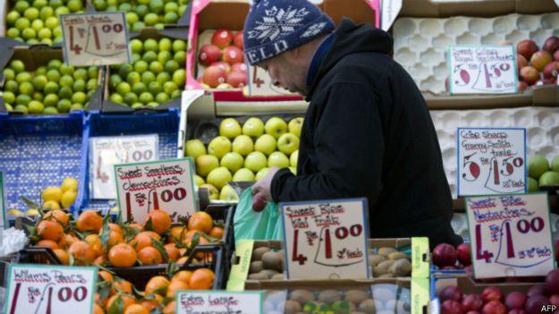 Овощной рынок в Лондоне