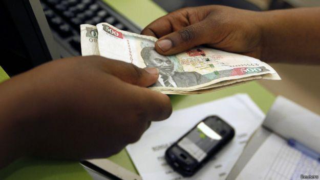 Transferencia de dinero vía celular en Africa
