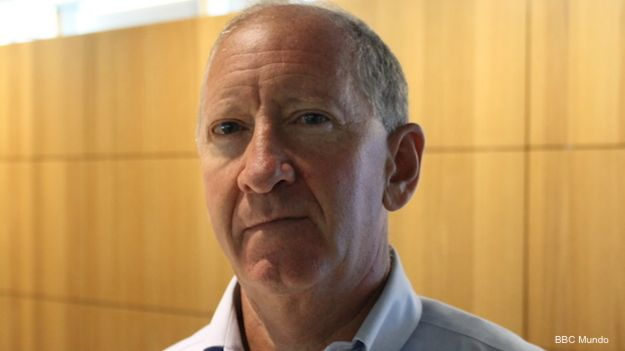 Kenneth Herd, gerente general del centro de investigación y desarrollo de General Electric en Río de Janeiro.