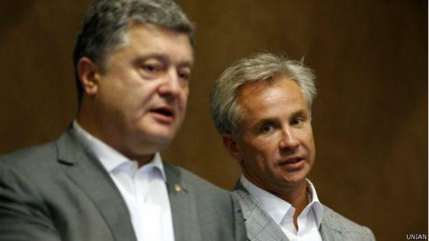 Порошенко и Косюк