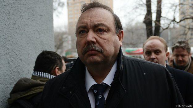 Оппозиционный политик Геннадий Гудков