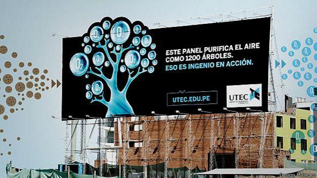Peru, valla ecológica
