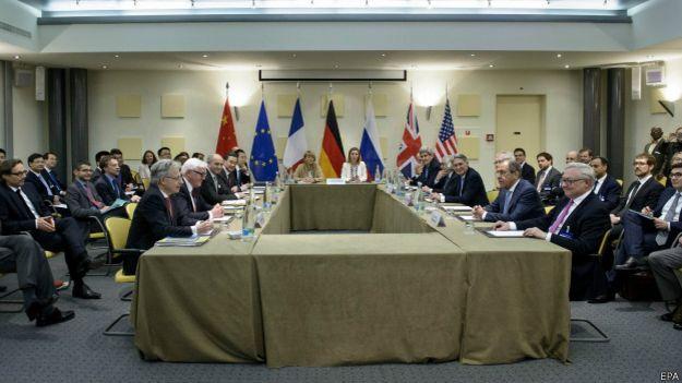 Переговоры в Лозанне
