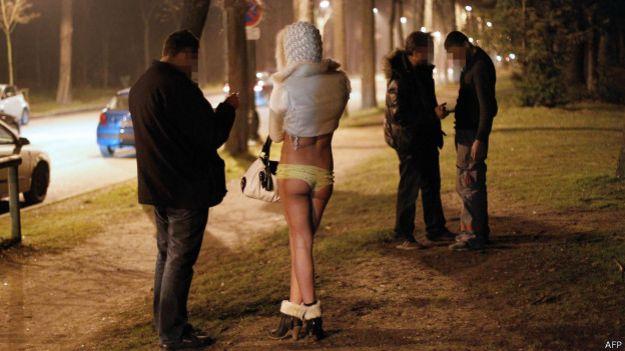 Проститутка