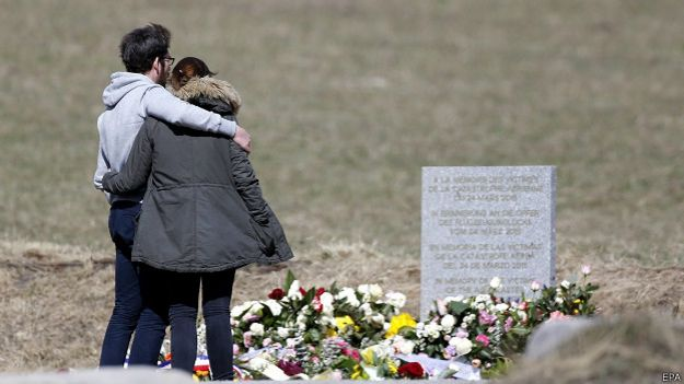 Familiares Germanwings