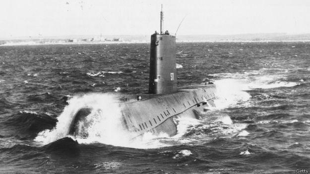 Submarino atómico, 1950