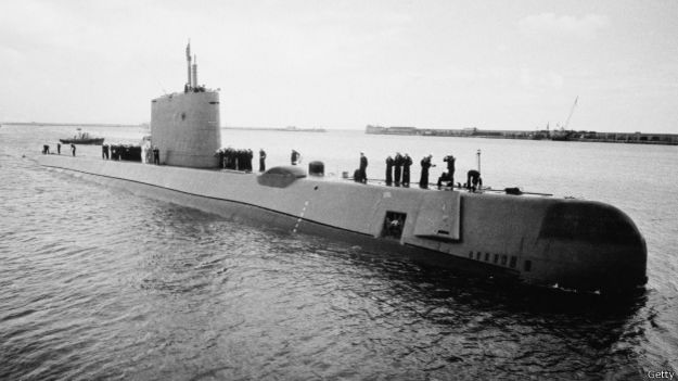 El USS Nautilus