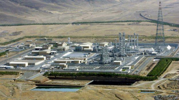 Реактор на тяжелой воде в Араке