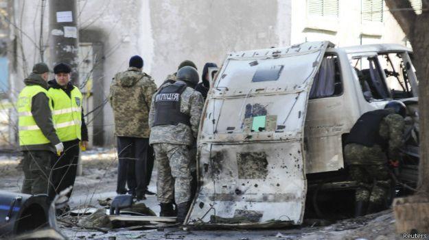 Взрыв в Харькове 6 марта