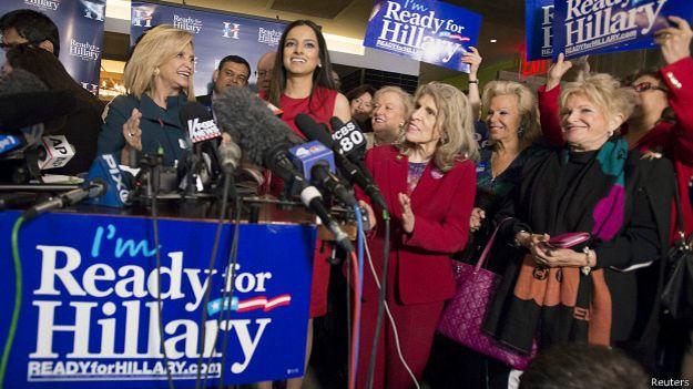 Кампания в поддержку Хиллари Клинтон