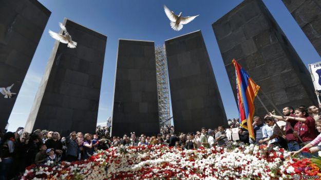Мемориал в память о геноциде армян