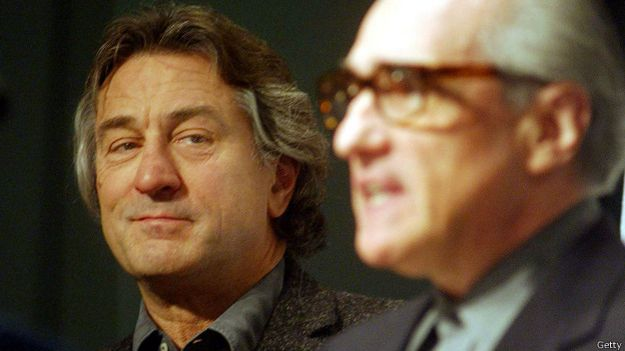 Роберт де Ниро и Мартин Скорсезе