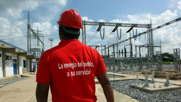 Электростанция в Венесуэле