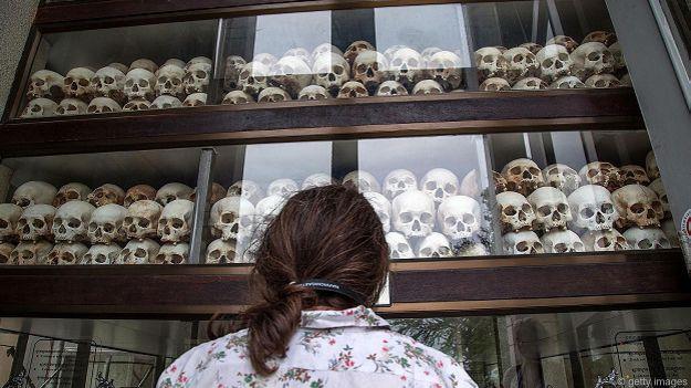 Жертвы режима Пол Пота