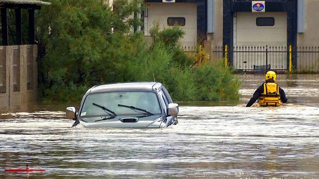 Inundaciones en Cerdeña
