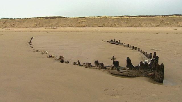 Restos de naufragio