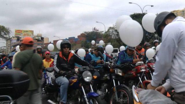 Marcha de motorizados
