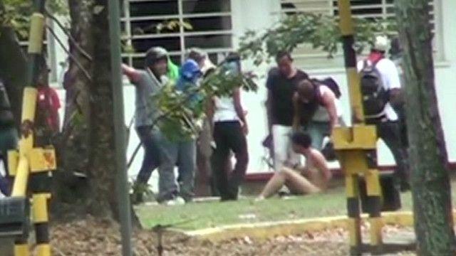 Violencia en Caracas