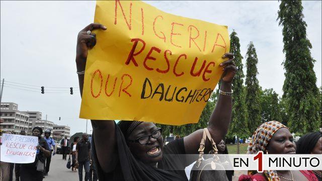 Madres protestan en Abuja