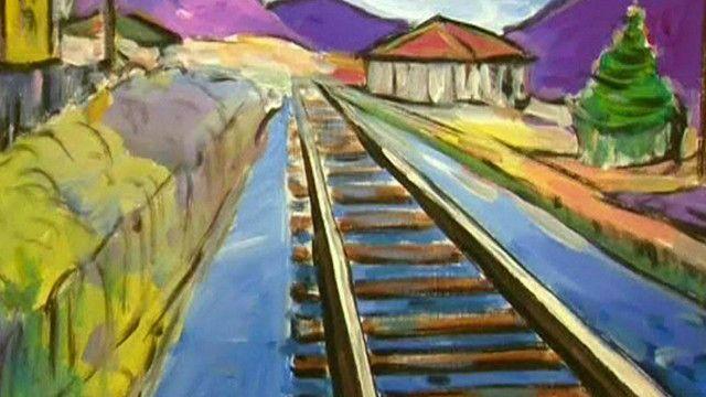 Pintura de Bob Dylan