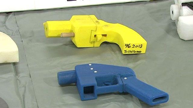 Armas fabricadas em impressoras 3D também são letais (BBC)
