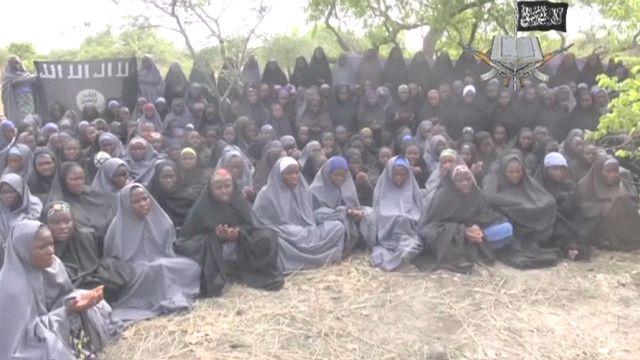 Adolescentes secuestradas en Nigeria