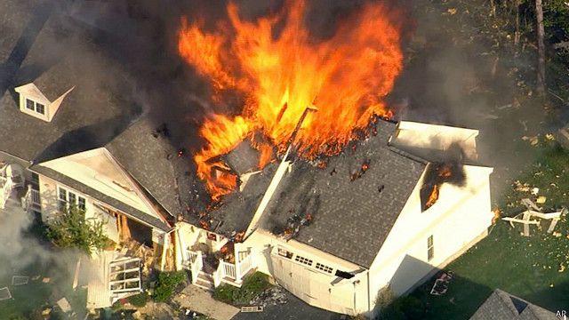 Explosión en Nuevo Hampshire