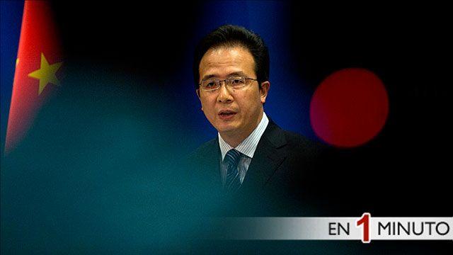 Hong Lei, ministro de asuntos exteriores chino