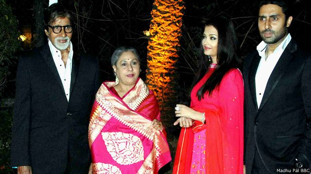 अमिताभ और जया बच्चन