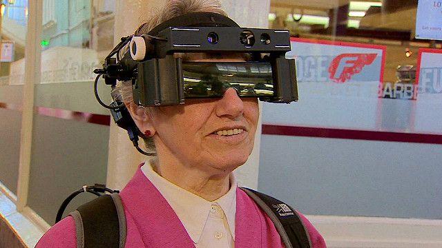 Prototipo de lentes para personas con ceguera parcial