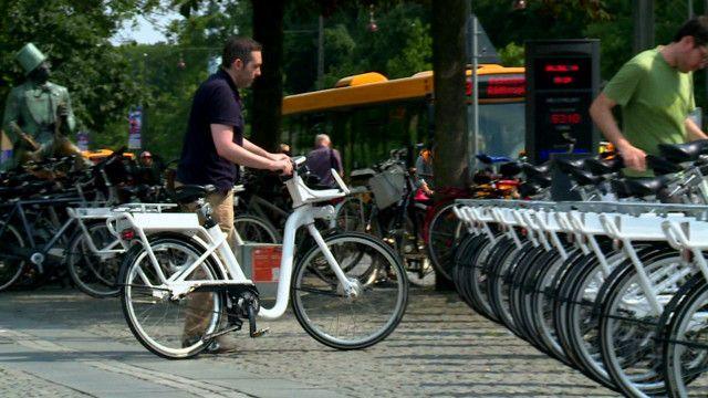 Bicicleta de Copenhaguen