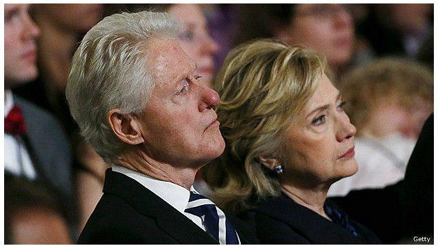 Ông bà Clinton