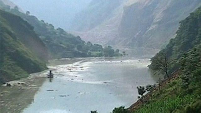 Embalse en Yunnan