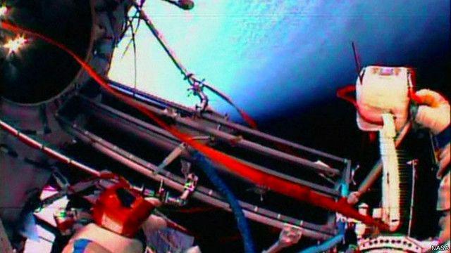 Estação Espacial Internacional (Crédito: Nasa)