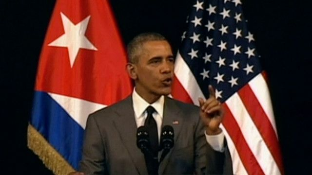 Obama discurso Cuba