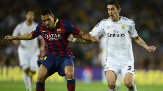 Real Madrid oo garaacday Barcelona