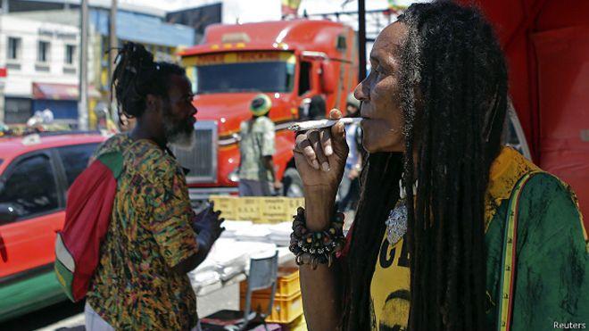 Marihuana en Jamaica