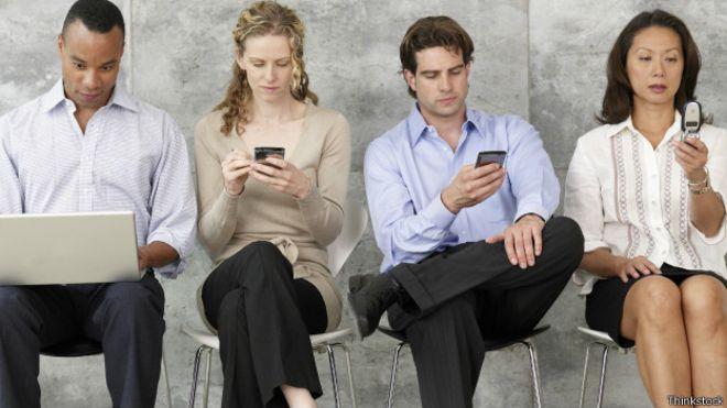 Usuarios de teléfonos