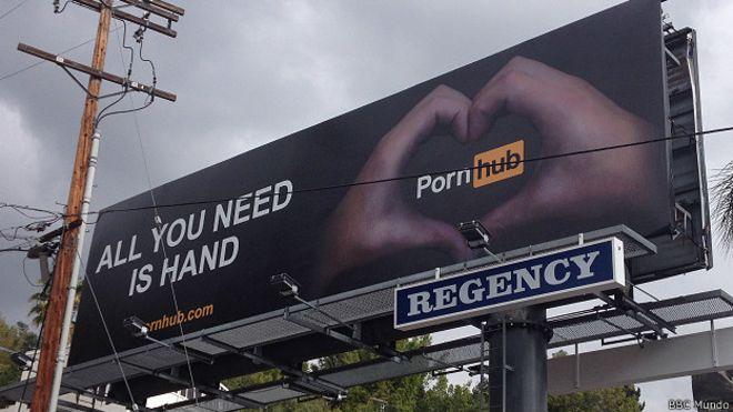 Anuncio de PornHub