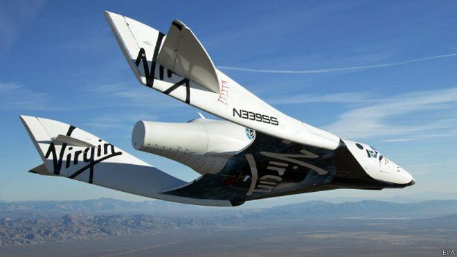 SpaceShipTwo de Virgin Galactic