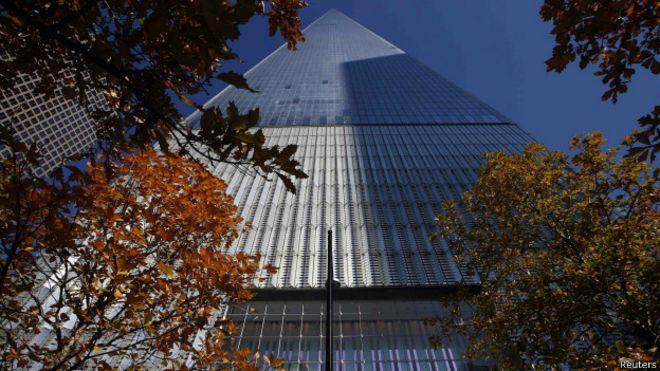 Всемирный торговый центр вновь открылся в Нью-Йорке